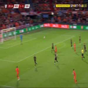 Netherlands 2-0 Gibraltar - Memphis Depay 21'