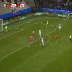 Slovenia [1]-2 Russia - Josip Ilicic 40'
