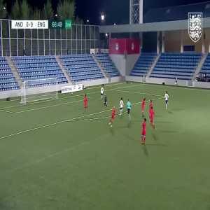 Smith Rowe goal vs Andorra U21's (67th minute)