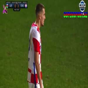 Azerbaijan U21 0 - [4] Croatia U21 Roko Šimić 44'