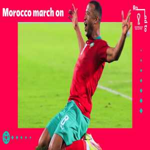 [FIFA World Cup] Morocco qualifies for the playoffs
