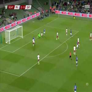 Ireland 3-0 Qatar - Callum Robinson 53'