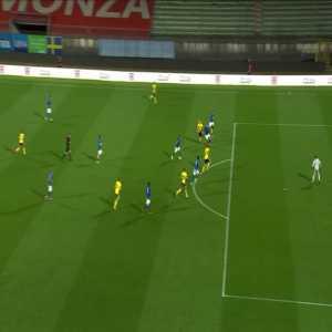 Italy U21 1 - [1] Sweden U21 - Tim Prica 92'