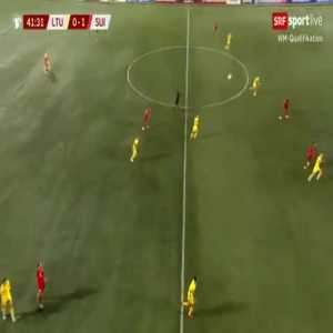 Lithuania 0-2 Switzerland - Renato Steffen 42'