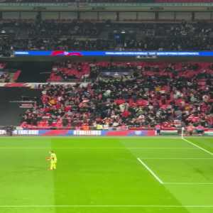 [Mark Ogden]: Hungary fans scuffling with stewards and police at Wembley