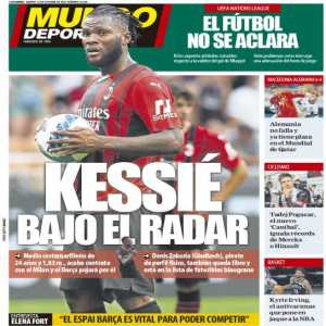 [ MUNDODEPORTIVO] Barça will try to sign Frank Kessie for next season, as his contract expires in June. They also like Zakaria as a potential option, another player who's contract expires next year.