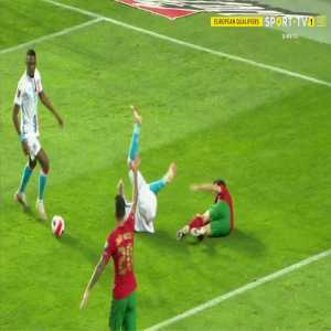 Portugal 1-0 Luxembourg - Cristiano Ronaldo penalty 8'
