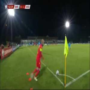 San Marino 0-2 Andorra - Sergi Moreno 53'