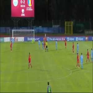 San Marino 0-3 Andorra - Ricard Fernandez Betriu 89'