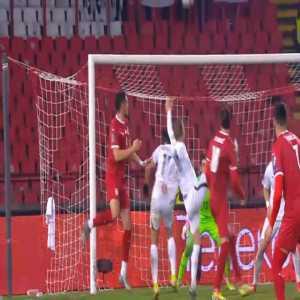 Serbia [3]-1 Azerbaijan - Dusan Tadic penalty 83'