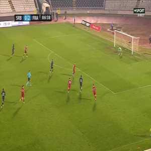 Serbia U21 0-3 France U21 - Rayan Cherki 87'