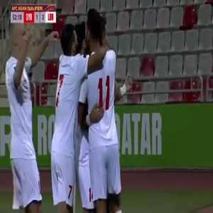Syria 1-[3] Lebanon - Hassan Ali Saad 53'