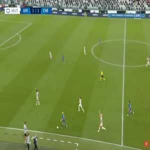 Juventus W 1-[2] Chelsea W - Pernille Harder 69'