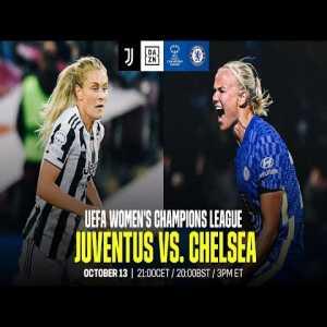 Juventus W vs. Chelsea W | Livestream
