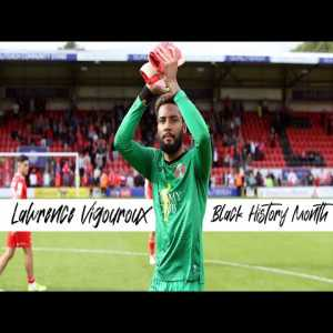 """[Leyton Orient FC] 9:48 Leyton Orient GK Lawrence Vigouroux: """"I look at Mendy at Chelsea - I had never heard of him when he signed for Chelsea - and he's been amazing, and he really has paved the way for a lot of black goalkeepers."""""""