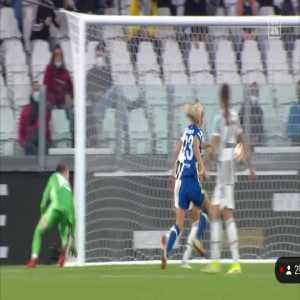 Pauline Peyraud Magnin great save against Chelsea W