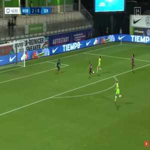 Wolfsburg W 3-0 Servette Geneve FC W - Tabea Wassmuth 43'