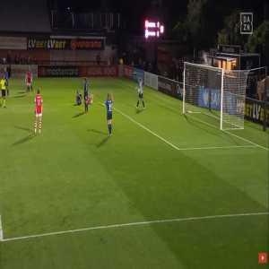 Arsenal W 1-0 Hoffenheim W - Kim Little penalty 21'