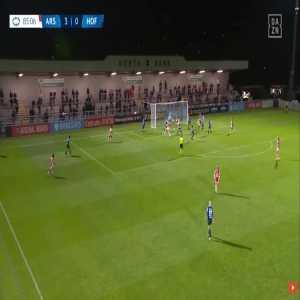 Arsenal W 4-0 Hoffenheim W - Leah Williamson 86'