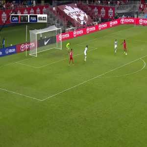 Canada [2]-1 Panama - Alphonso Davies (great goal)