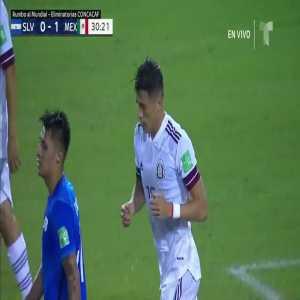 El Salvador 0-1 Mexico - Hector Moreno 30'