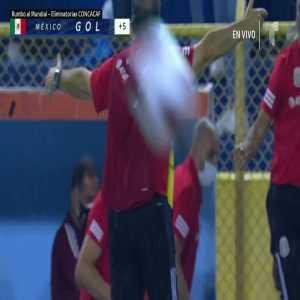 El Salvador 0-[2] México - Jiménez 90+3'