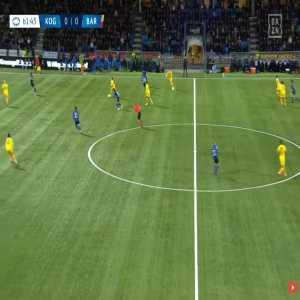 Koge W 0-1 Barcelona W - Fridolina Rolfo 63'