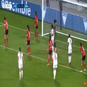 Lyon W 1-0 Benfica W - Kadeisha Buchanan 29'