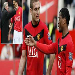 [MainOnline Sport] Patrice Evra reveals he once fell out with Nemanja Vidic and the pair refused to talk for THREE months - and Fergie had to put Rio Ferdinand between them on the pitch