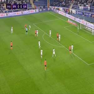 Basaksehir 1-0 Besiktas - Stefano Okaka 41'