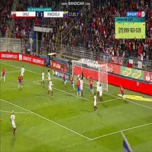 Chile [1]-0 Venezuela - Erick Pulgar header 18' | CONMEBOL WC Qualifiers