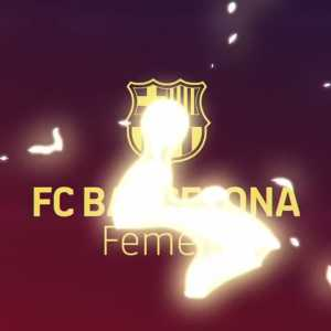 """[FCBfemeni] """"We are the first club women's team who have reached 500K followers on Twitter!"""""""