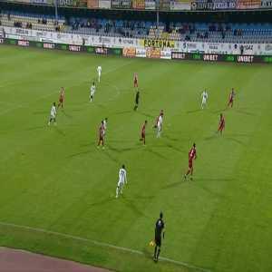 Gaz Metan - Dinamo Bucharest [2]-0 Ronaldo Deaconu 38' (Great Goal)
