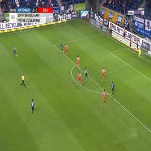 Hoffenheim 3-0 Köln - Christoph Baumgartner 51'