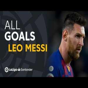 [LaLiga Santander] - ALL 474 GOALS scored by Leo Messi