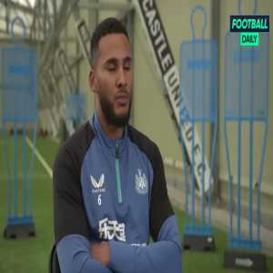 """Newcastle captain Lascelles: """"I was at home when the phone rang, the person said 'It's Amanda.', I said 'Amanda who?' I didn't have her number. She told me that the takeover would happen in 30 mins. I really appreciated it and got goosebumps. To receive that call is fantastic."""""""