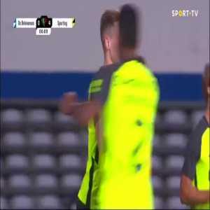 OS Belenenses 0-4 Sporting - Nuno Santos penalty 79'
