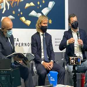 """[Romeo Agresti] Nedved at the Book Fair: """"We won the Scudetto, took home 2 cups. Some teams have not won anything in 10 years. We live with this pressure of always having to win. We are used to, who works at the Juve he must know, he must be strong and not be afraid """""""