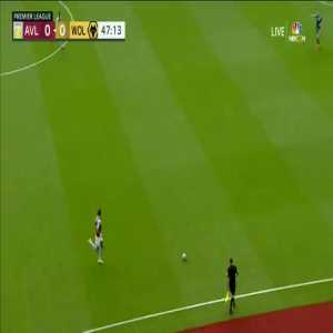 Aston Villa 1-0 Wolves: Danny Ings 48'