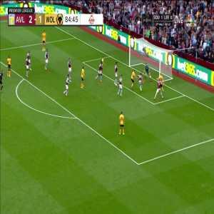 Aston Villa 2-[2] Wolves - Conor Coady 85'