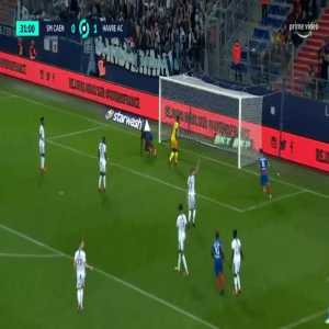 Caen [1]-1 Le Havre - Alexandre Mendy 32'