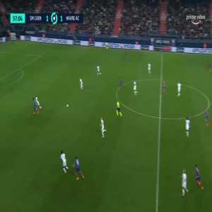 Caen [2]-1 Le Havre - Mehdi Chahiri 58'