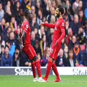 """[Fabrizio Romano] Jurgen Klopp: """"Come on, who is better than Mo Salah at the moment? There is nobody better… and that is clear""""."""