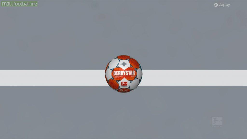 Goal line technology during Borussia v Mainz