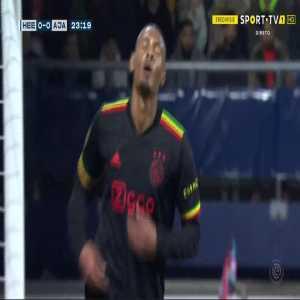 Heerenveen 0-1 Ajax - Sebastien Haller 24'