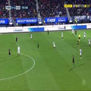 Heerenveen 0-2 Ajax - David Neres 75'