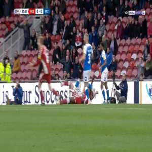 Middlesbrough 1-0 Peterborough - Paddy McNair penalty 85'