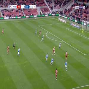 Middlesbrough 2-0 Peterborough - Joshua Coburn 90'+4'