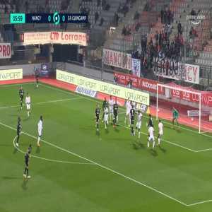 Nancy 0-1 Guingamp - Louis Carnot 17'