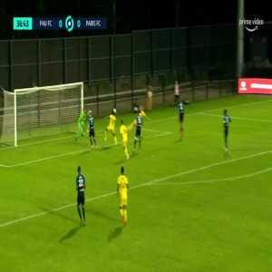 Pau FC 1-0 Paris FC - Victor Lobry 38'